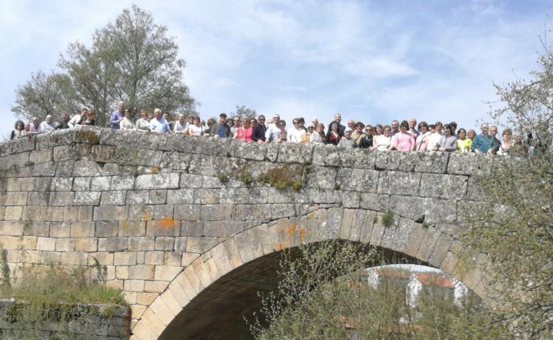 Allariz é o punto de partida da excursión organizada pola entidade galegoburgalesa por Galicia