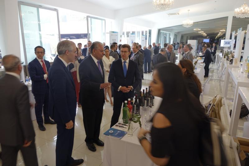O presidente da Xunta participou esta tarde no Encontro Gastronómico con Galicia