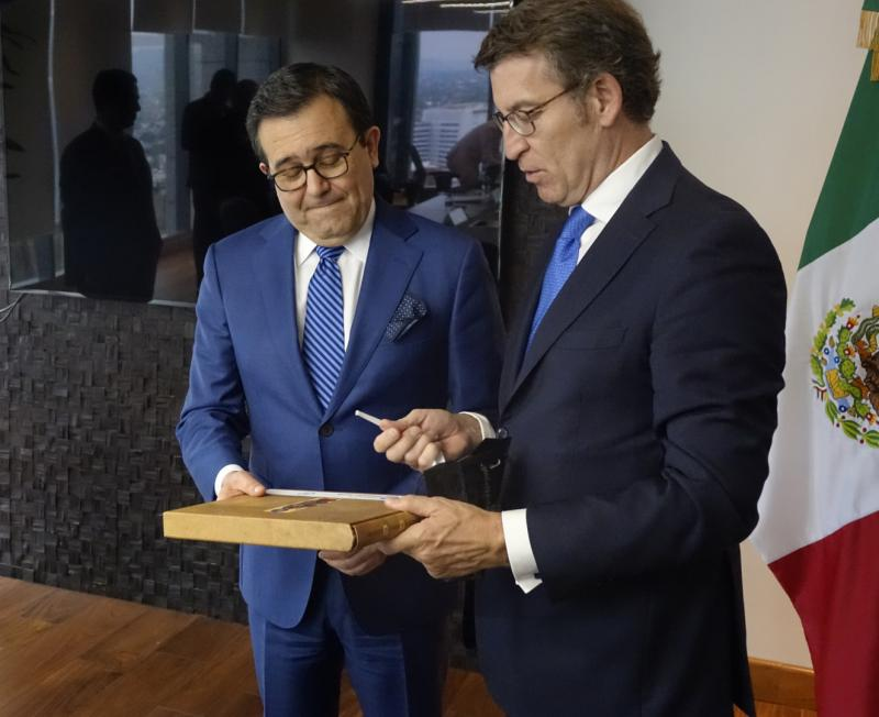 O presidente da Xunta reuniuse co secretario de economía do Goberno de México, Ildefonso Guajardo