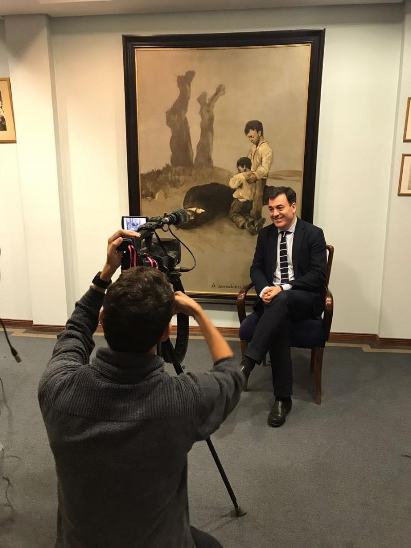 A exposición 'Castelao Maxistral', cuxa peza principal é o óleo, inaugurarase na Cidade da Cultura o vindeiro 5 de outubro