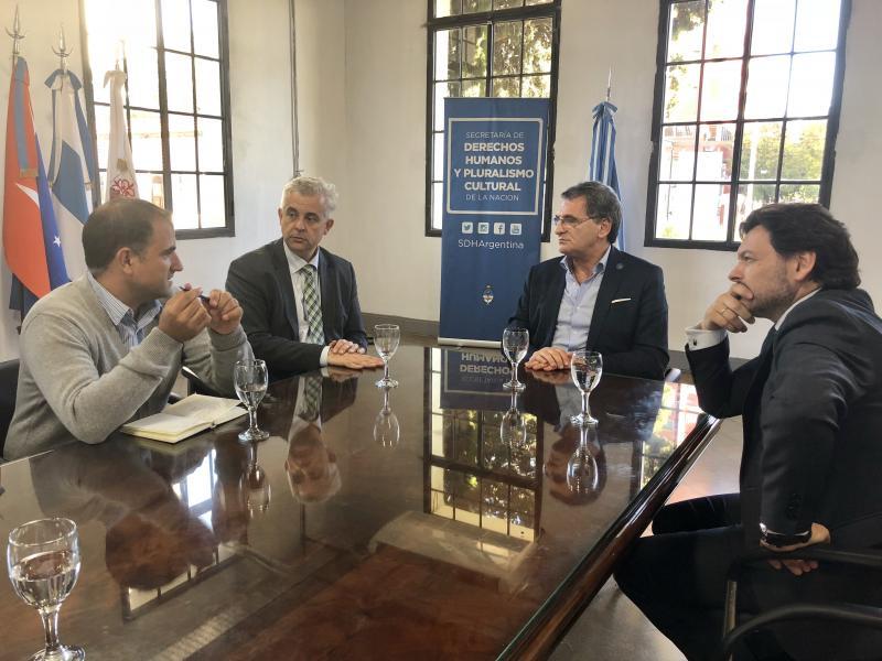 Imaxe da reunión celebrada onte en Bos Aires