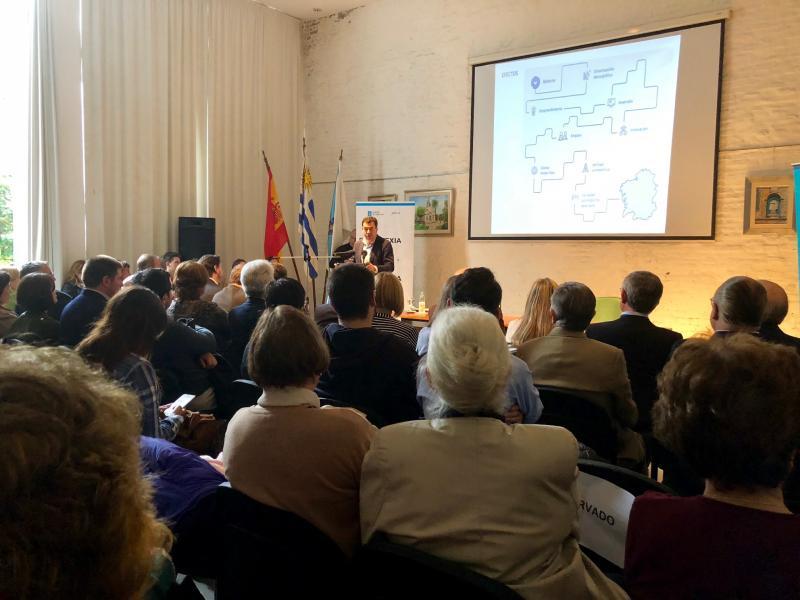 O conselleiro de Cultura, Educación e Ordenación Universitaria e o secretario xeral da Emigración concluíron en Montevideo as xornadas informativas sobre a Estratexia Retorna 2020