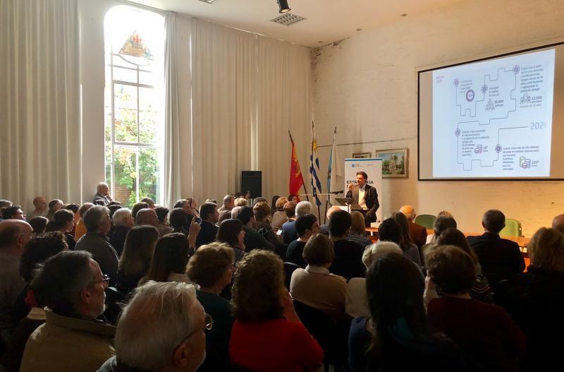El conselleiro de Cultura, Educación y Ordenación Universitaria y el secretario xeral da Emigración concluyeron en Montevideo las jornadas informativas sobre la Estrategia Retorna 2020