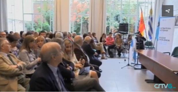 El viaje institucional a la Argentina y el Uruguay del conselleiro de Cultura, Educación e Ordenación Universitaria y el secretario xeral da Emigración, en los informativos de la TVG