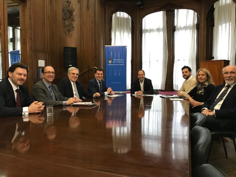 Os responsables de cultura de Galicia e Arxentina analizan a situación conxunta