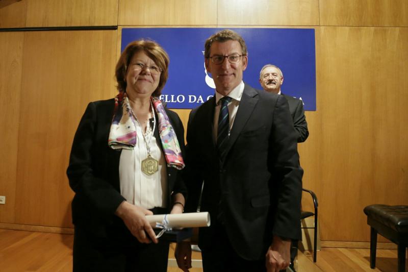 O titular da Xunta presidiu este mediodía o acto de entrega das Medallas do Consello da Cultura Galega