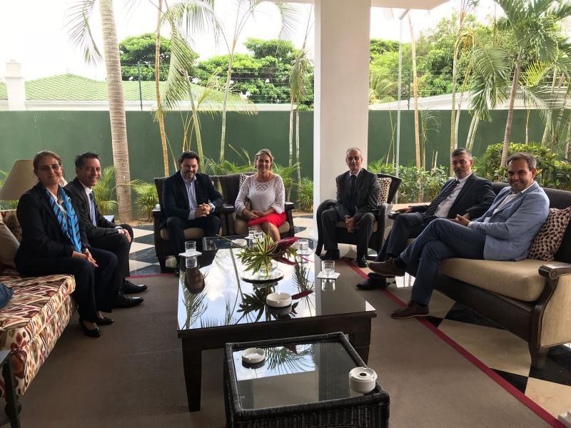 Miranda y De la Campa mantuvieron, además, un encuentro con las y los miembros del  Consejo de Residentes  Españoles (CRE)