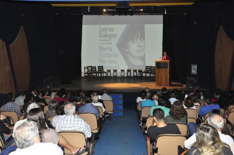 A entidade galega na capital bahiana homenaxeou a María Victoria Moreno e, tamén, ao empresario José Rosario Rodeiro