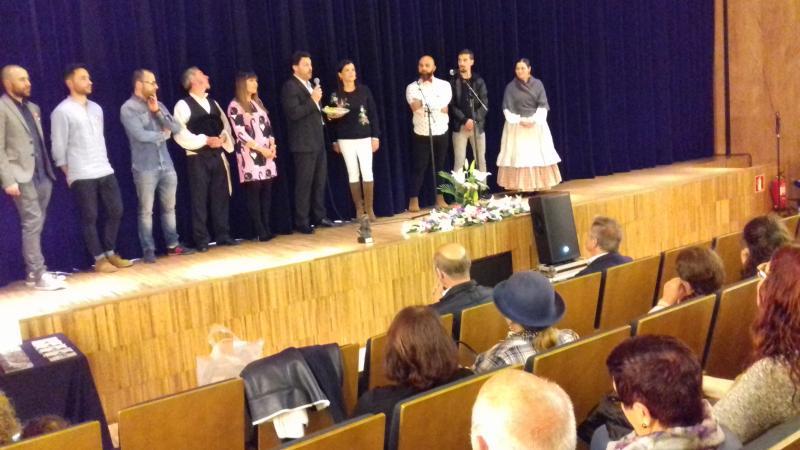 O secretario xeral da Emigración participou no acto de homenaxe á emigración das Festas da Rosa do concello de Mos