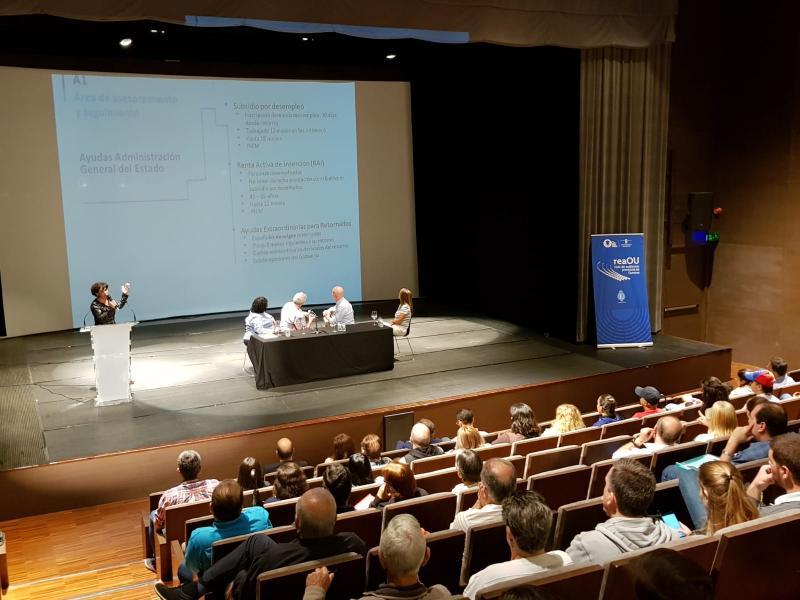 Nas xornadas participou unha técnica de Emigración, quen informou ás e aosasistentes sobre as diferentes liñas da acción da Estratexia Retorna 2020