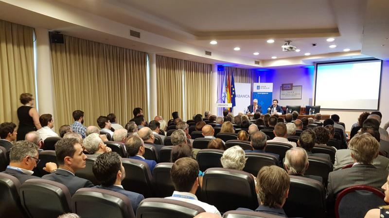 O secretario xeral da Emigración abriu esta mañá en Santiago de Compostela o Vº Encontro de Empresarios Galegos no Mundo