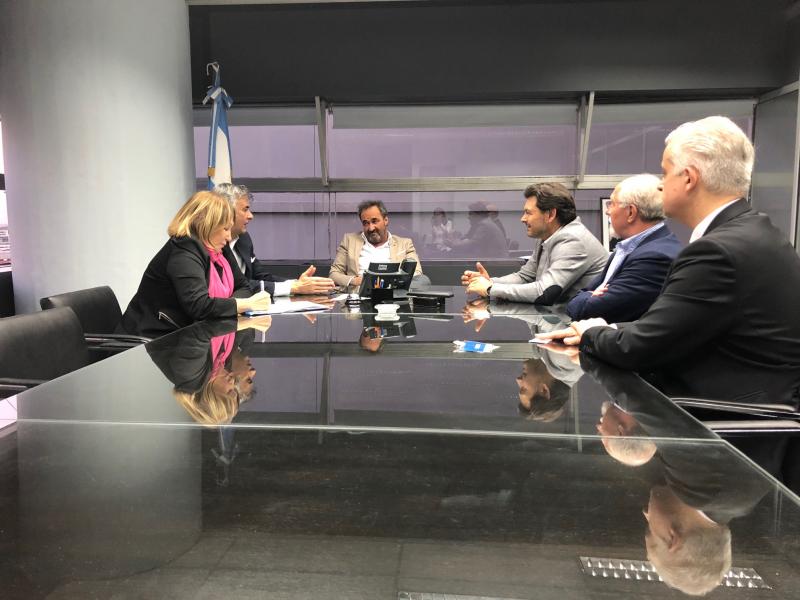 Imagen de la reunión celebrada en la capital argentina