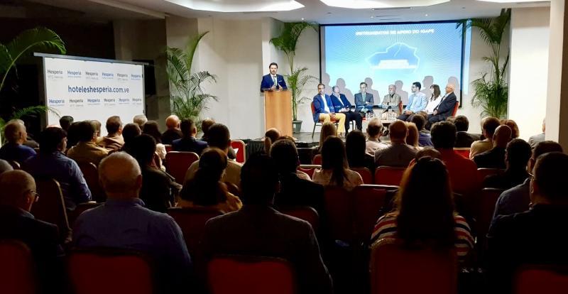Imaxe do encontro celebrado esta en mañá en Valencia (Venezuela)