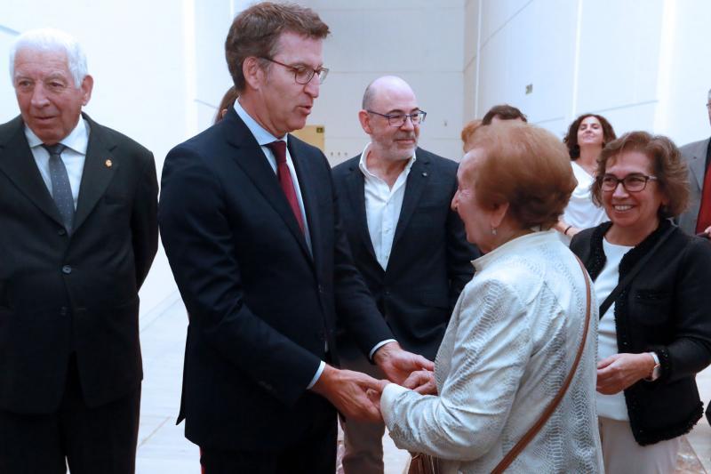 O presidente da Xunta de Galicia animou a todas e a todos os galegos a visitar 'Castelao maxistral'