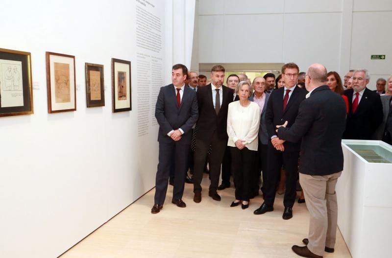 El presidente de la Xunta de Galicia animó a todas y a todos los gallegos a visitar 'Castelao maxistral'