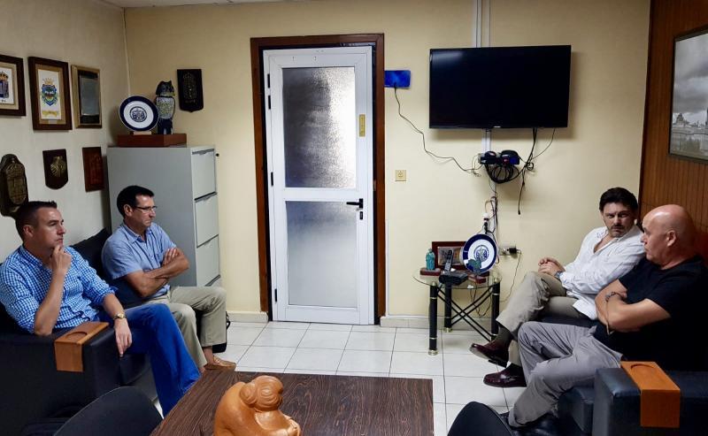 EL secretario xeral da Emigración también se reunió con el presidente de la Federación de Sociedades Gallegas de Cuba, Sergio Toledo