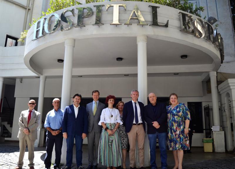 O Hospital Espanhol de Río de Xaneiro presta asistencia sanitaria de maneira gratuíta ás e aos residentes sen recursos