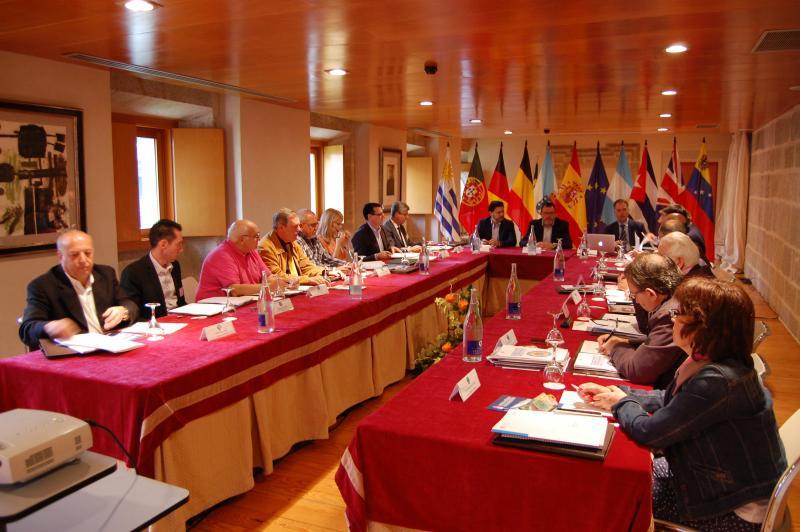 Imagen de archivo de la reunión del Consello de Comunidades Galegas celebrada en Nogueira de Ramuín (Ourense)