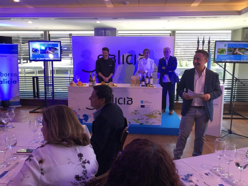 O 'Saborea Galicia' clausurouse onte no restaurante García da capital uruguaia