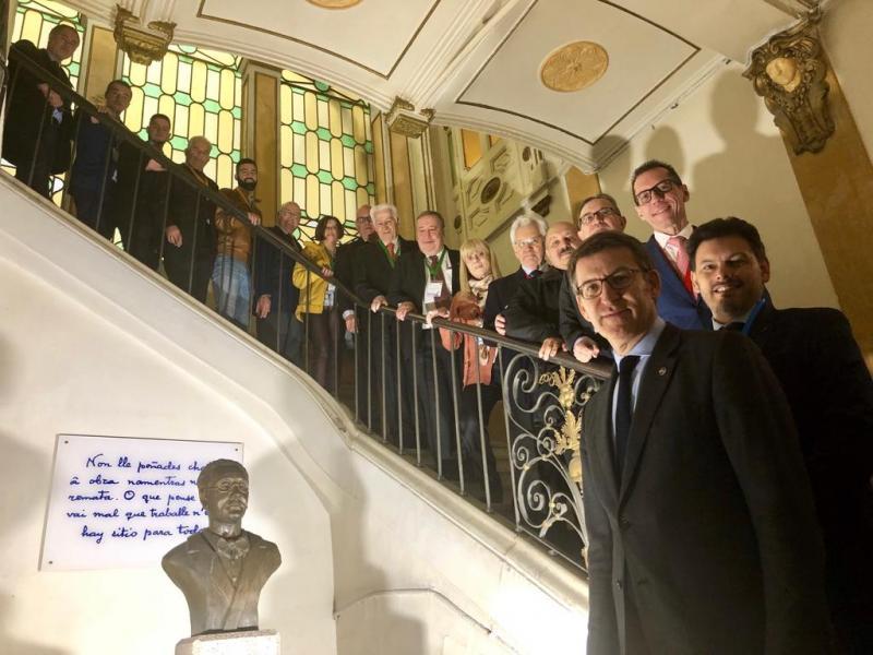 O presidente da Xunta inaugurou esta mañá a Comisión Delegada do XI Consello de Comunidades Galegas