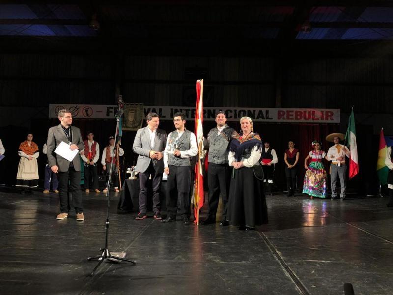 Imaxe da gala celebrada en Ramirás (Ourense)