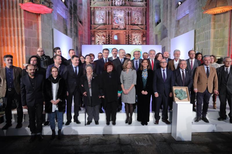 O titular da Xunta presidiu este mediodía no mosteiro de Montederramo o acto de entrega destes galardóns