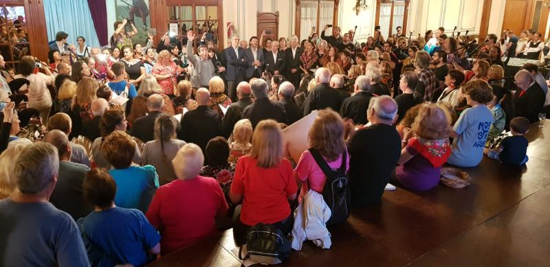 O secretario xeral da Emigración, na presentación do cedé homenaxe do Buenos Aires celebra Galicia
