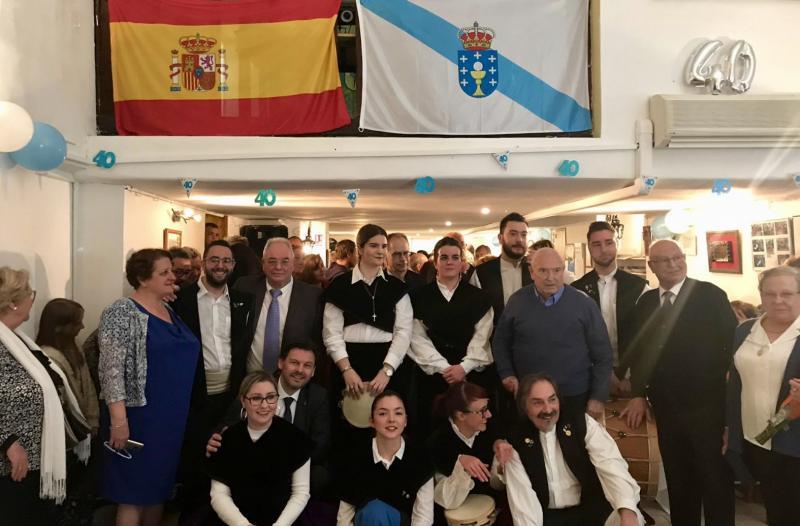 El Centro Gallego de Marsella es una de las cinco entidades gallegas do exterior fundadas en el año de la Constitución española de 1978