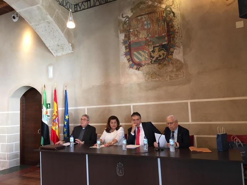 Imaxe da celebración en Badaxoz da xuntanza da Federación de Centros Galegos de Andalucía, Estremadura e Ceuta