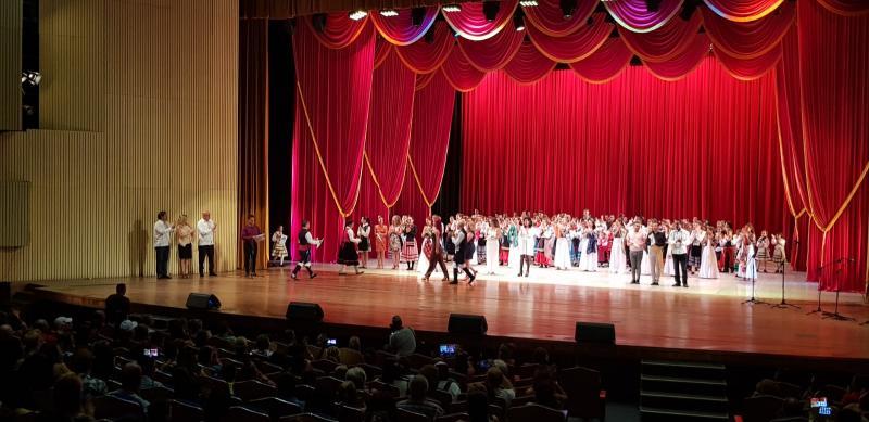 Miranda acudiu á presentación da canción 'De Galicia a La Habana', que a colectividade galega na illa compuxo para conmemorar o 500 aniversario da capital cubana
