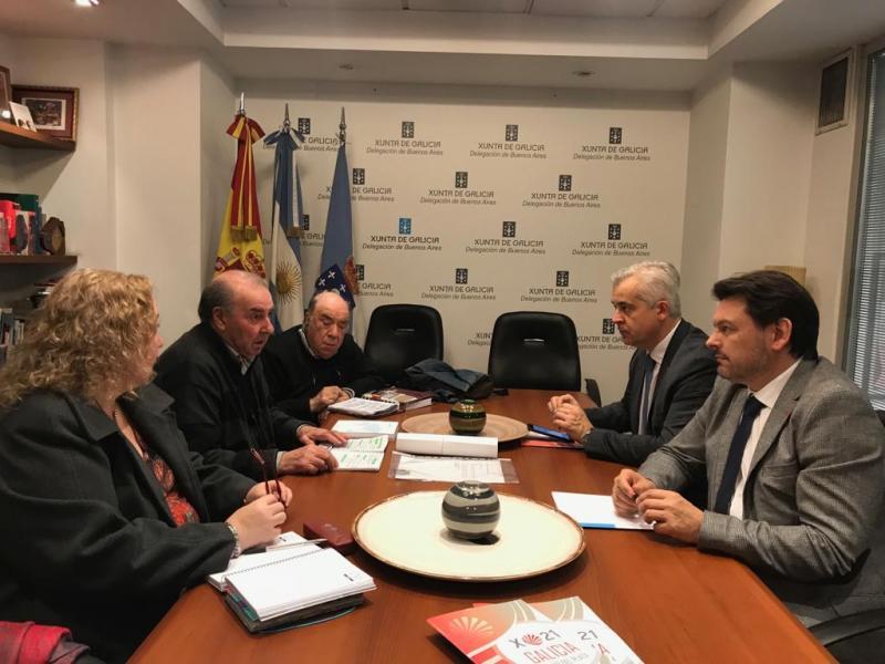 Reunión CG Mar del Plata e Solla