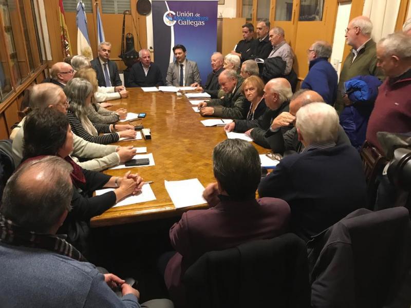 Reunión Unión Asociaciones Gallegas
