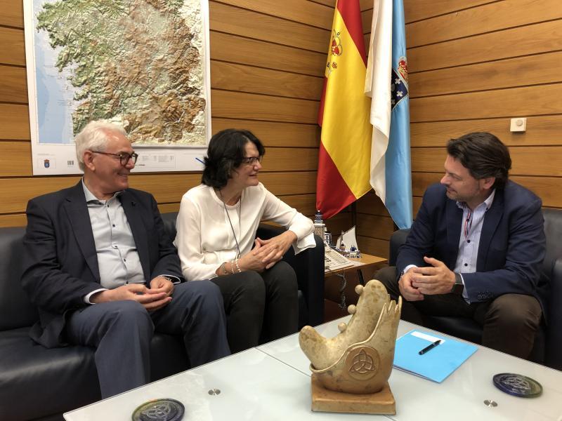 Miranda renova o seu compromiso coas actividades de difusión da cultura galega que desde hai anos leva a cabo a Casa de Galicia de Córdoba