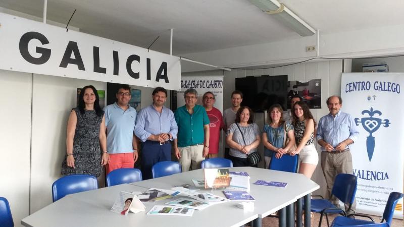 Na Comunidade Valenciana residen (datos INE) 18.485 cidadás e cidadáns galegos