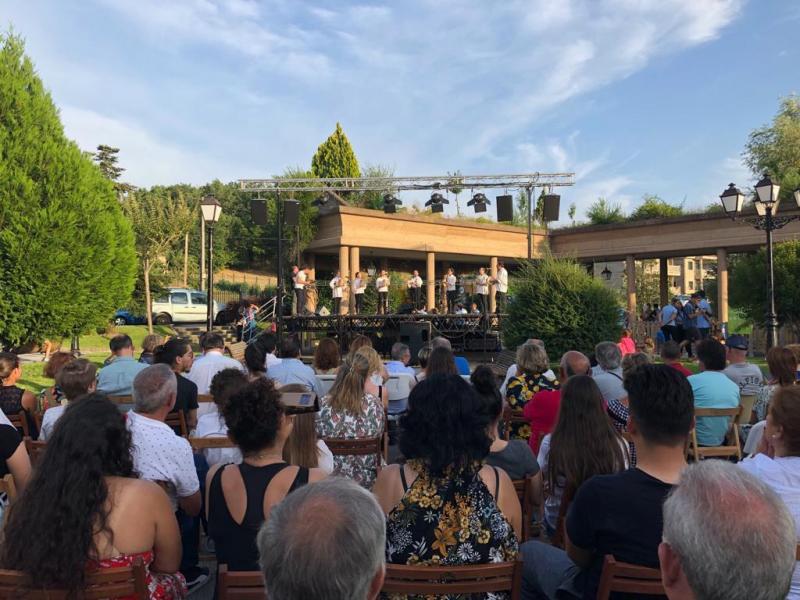 Imagen de la gala de clausura de las Escolas Abertas 2019 celebrada esta tarde en O Pereiro de Aguiar