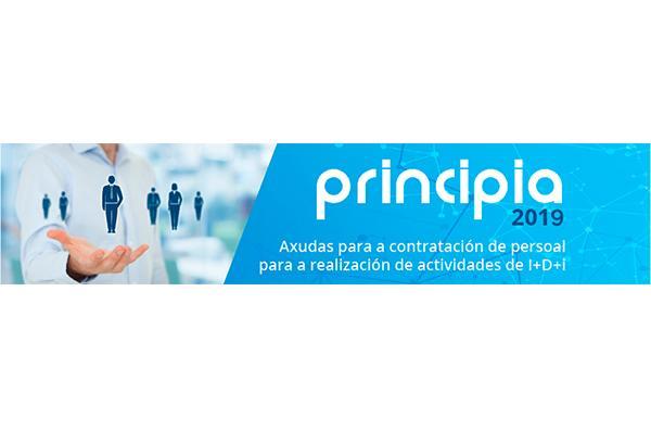 O programa Principia é unha das preto de 60 medidas que conforman a Estratexia Retorna 2020 da Xunta de Galicia