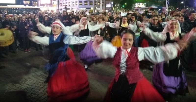 Imaxe da celebración en Bos Aires