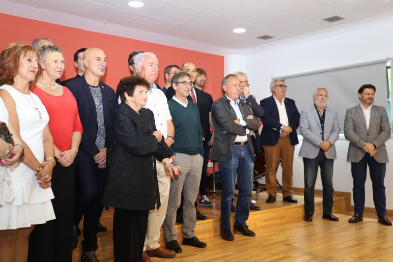 """Imagen de la entrega de los """"Premios Alecrín 2019"""", otorgados por la Federación de Entidades Culturais Galega en Cataluña – FEGALCAT"""