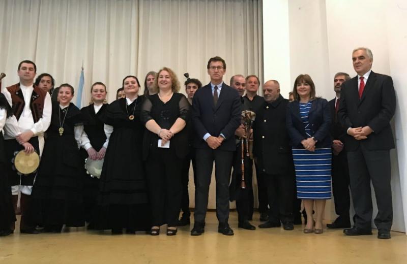 O presidente da Xunta mantivo un encontro coa colectividade de Mar del Plata