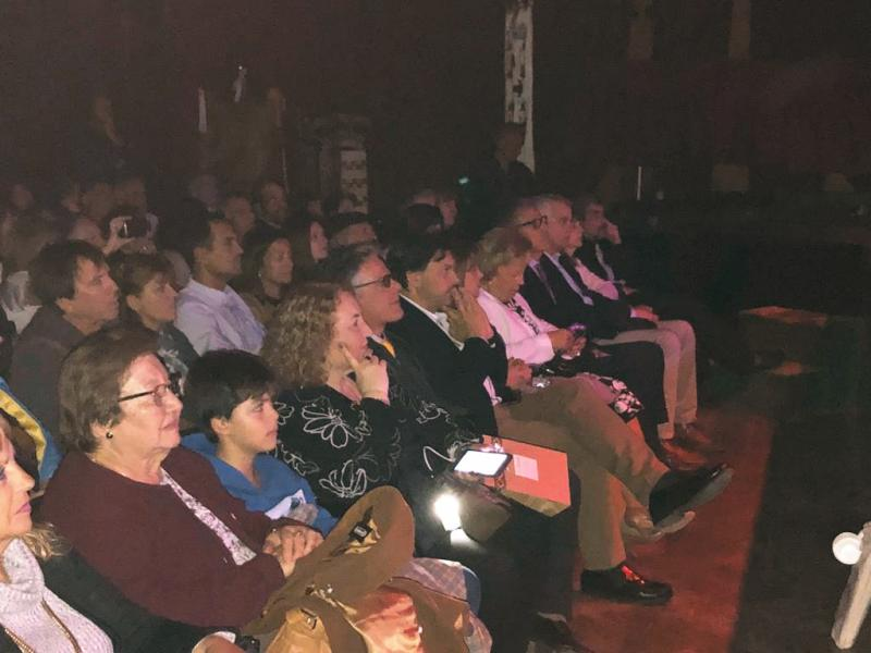 La artista ourensana de proyección internacional participó en el concierto del Teatro Auditorium Centro Provincial de las Artes