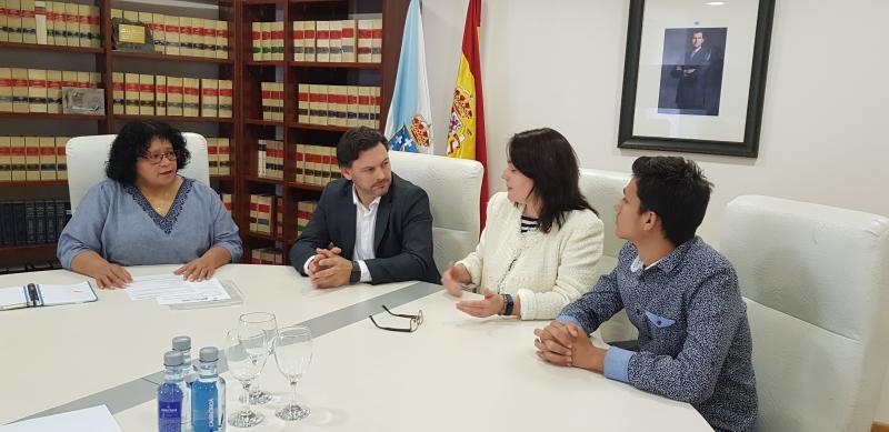 Imaxe da reunión celebrada en Ourense