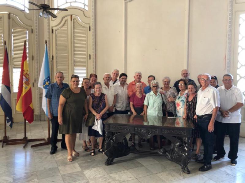 O secretario xeral da Emigración, na conferencia 'A presenza galega na Habana'