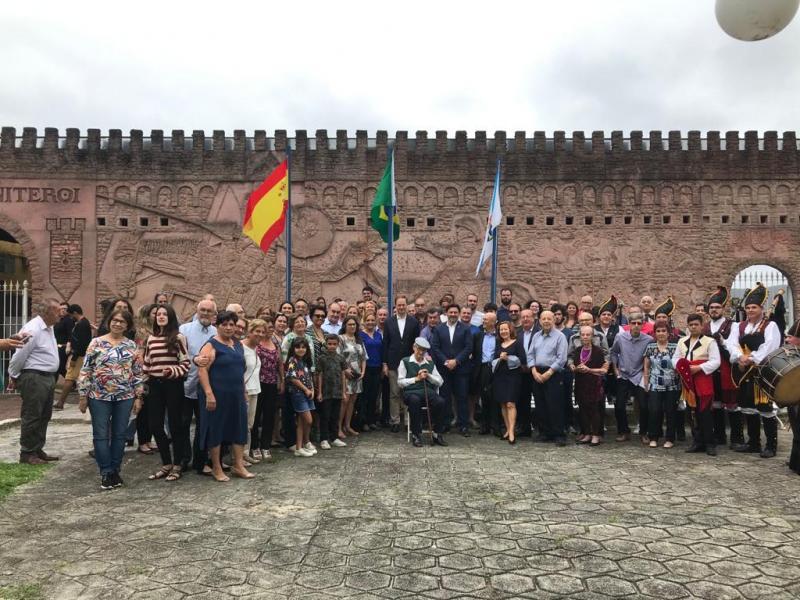 Imaxe da celebración do Día da Hispanidade no Club Español de Niterói