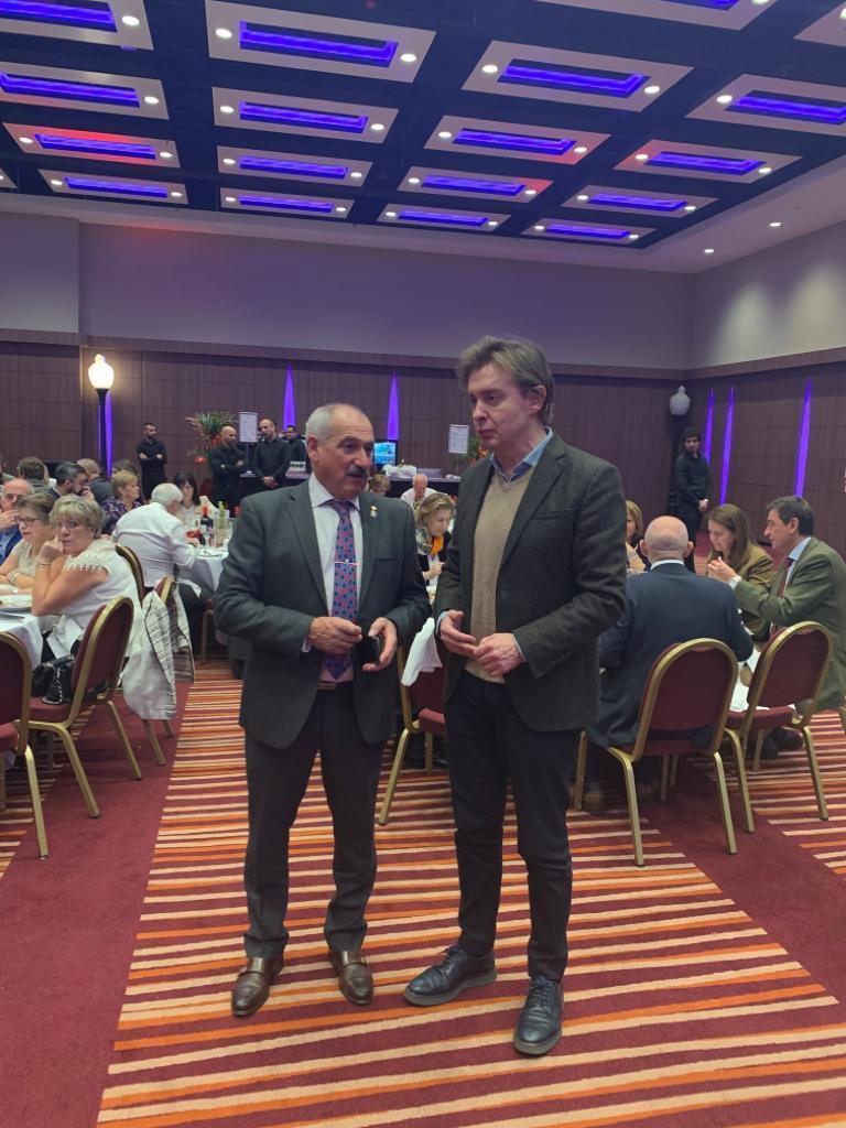 El director xeral de Relacións Exteriores ye coa UE, Jesús Gamallo, participó hoy en los actos de conmemoración del 50 aniversario del Centro Galego de Londres