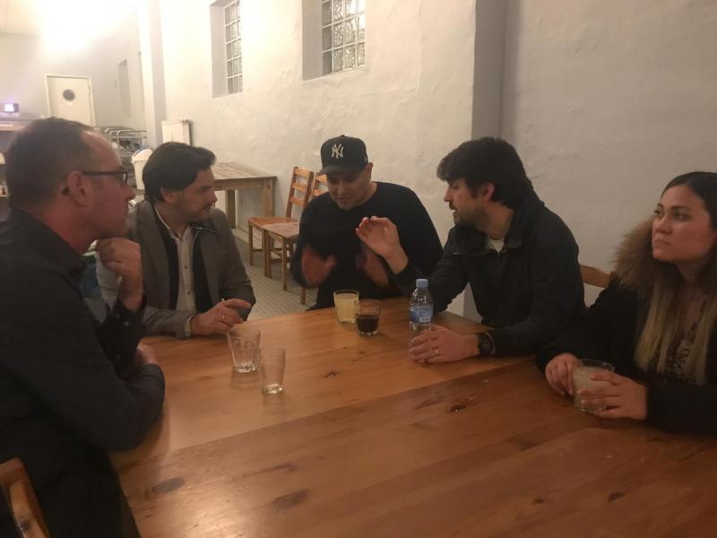 El secretario xeral da Emigración, en el Centro Cultural y Deportivo Galicia Emigrante de Gütersloh