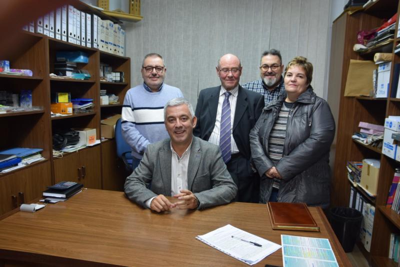 O secretario xeral de Política Lingüística da Xunta de Galicia, no Centro Galego de Lleida