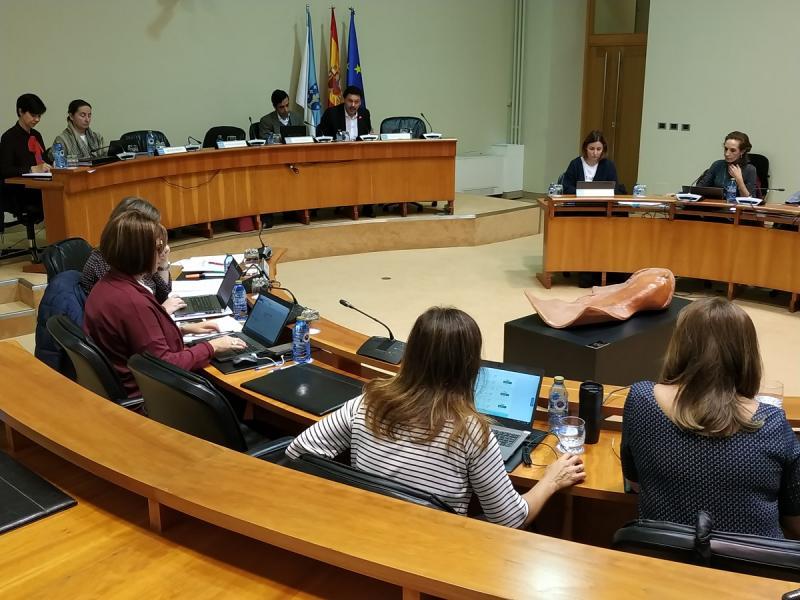 O secretario xeral da Emigración, na súa intervención esta mañá no Parlamento de Galicia