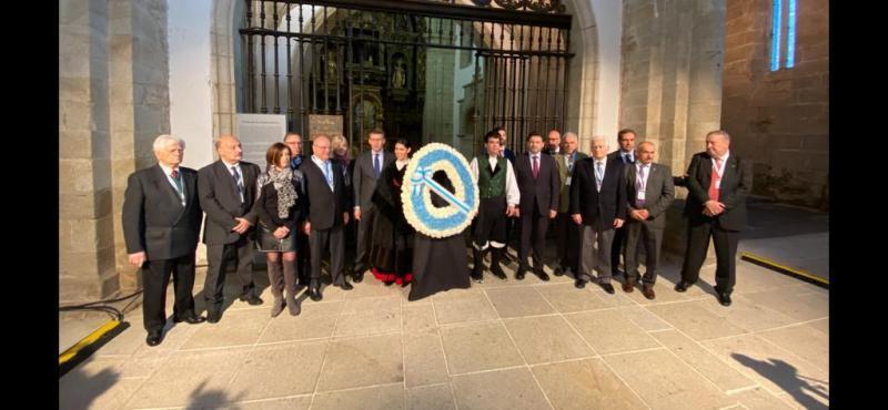 O titular do Goberno galego presidiu esta mañá o acto inaugural do XII Pleno do Consello de Comunidades Galegas