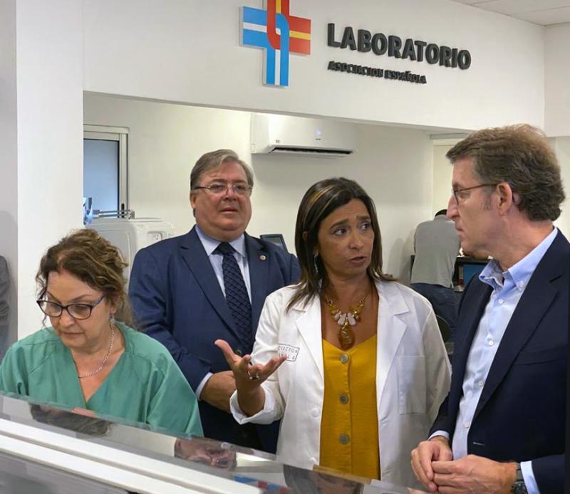 O presidente da Xunta presidiu o acto de sinatura dos protocolos de colaboración coa Casa de Galicia, o Hogar Español e a Asociación Española Primera en Salud