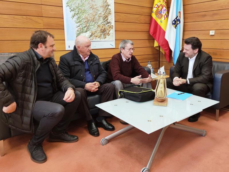 Miranda salienta o traballo a prol do retorno dos galegos do exterior que está a levar a cabo a Asociación de Retornados Ulla-Umia